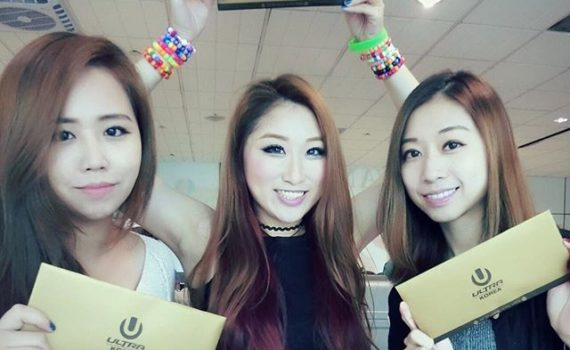 EDM girls at UMF Korea.